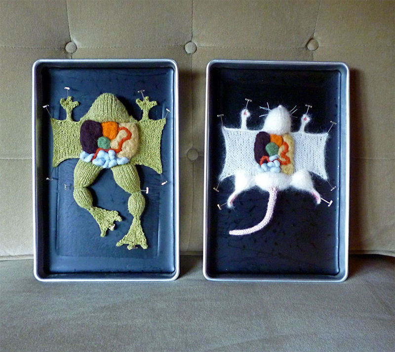 Dissected Yarn Animals