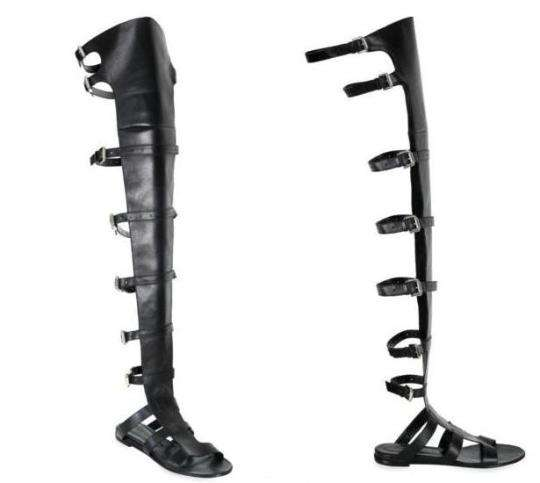 Thigh-High Gladiator Sandals