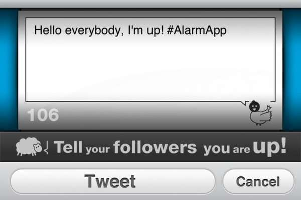 Social Media Alarm Clocks