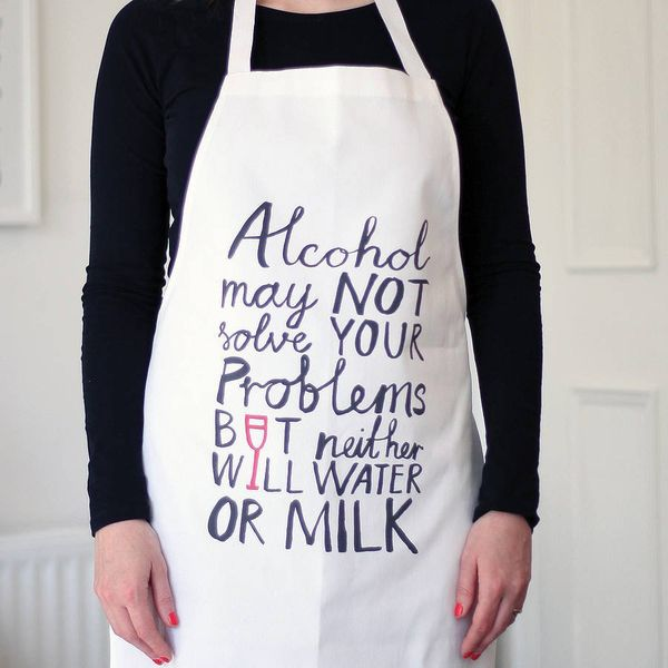 Defensive Alcoholic Aprons