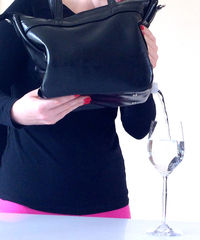 Deceptive Flask Handbags