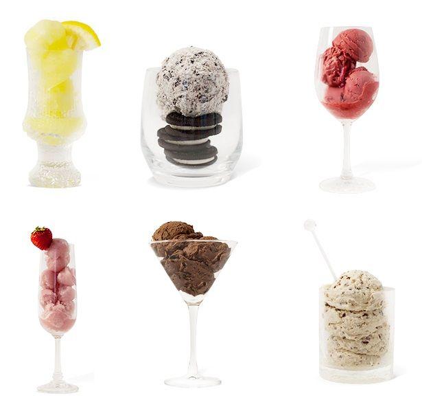 Spirited Frozen Desserts