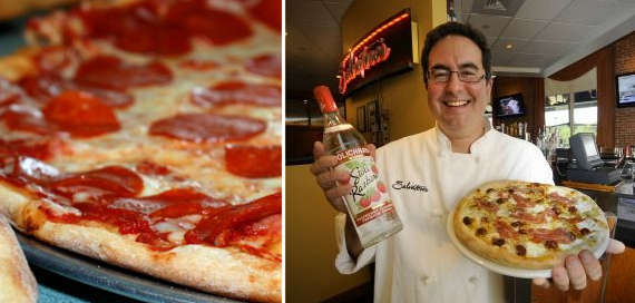 Booze-Infused Pizzas