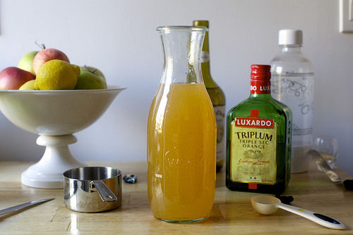 Apple Cider Sangrias