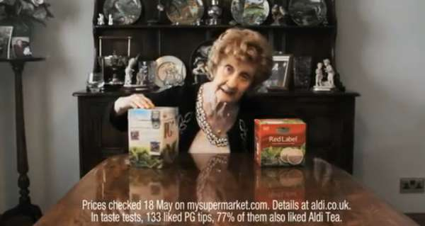 Liquor-Loving Grandma Ads