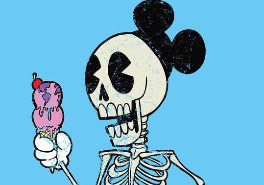 Skeletal Disney Drawings