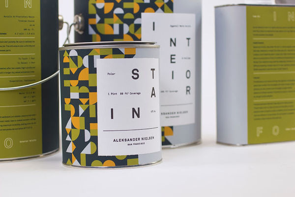 Aleksander Nielsen Paint Packaging