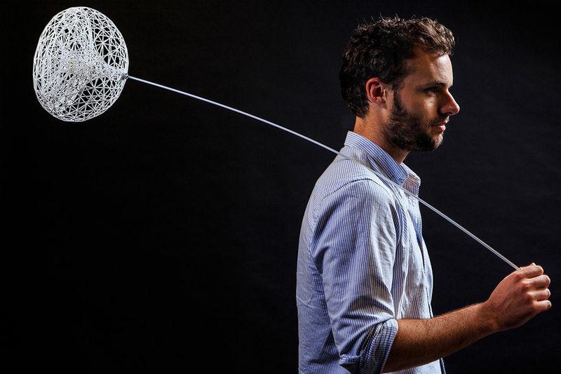 Floating 3D-Printed Lights