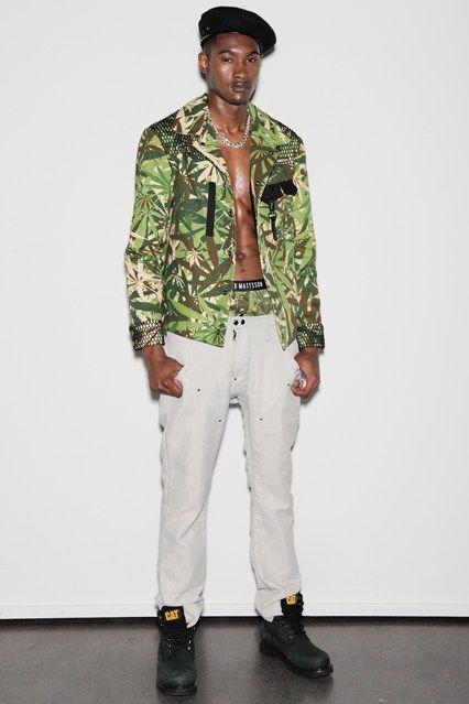 Rastafarian Cadet Menswear