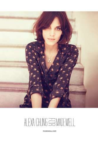 Alexa Chung for Madewell Fall 2011
