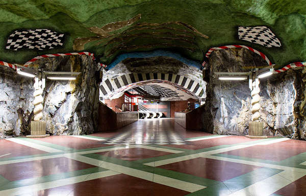 Underground Artwork Installations