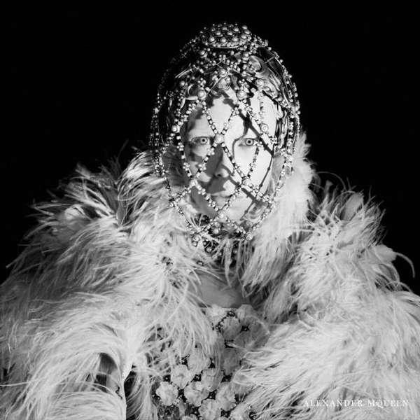 Grayscale Victorian-Like Fashion Ads