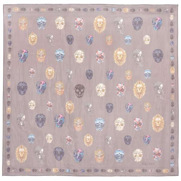 Soft Skull-Printed Stoles