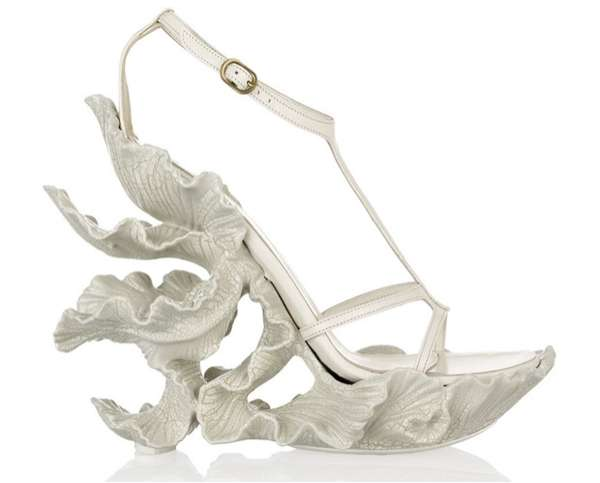 Alexander McQueen Sculpted Sandals