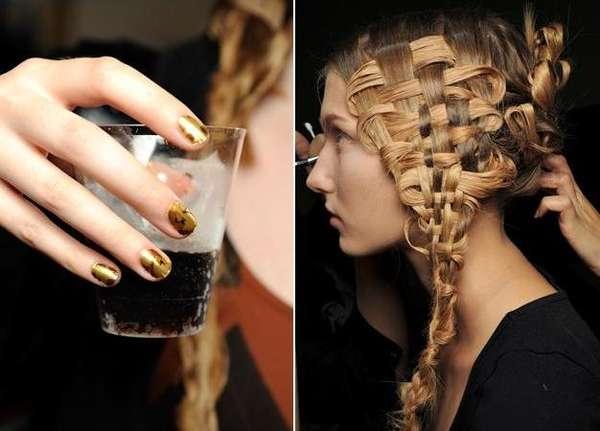 Basket-Woven Hairdos