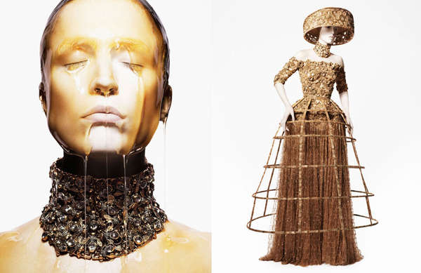Honey-Dripping Fashion Ads