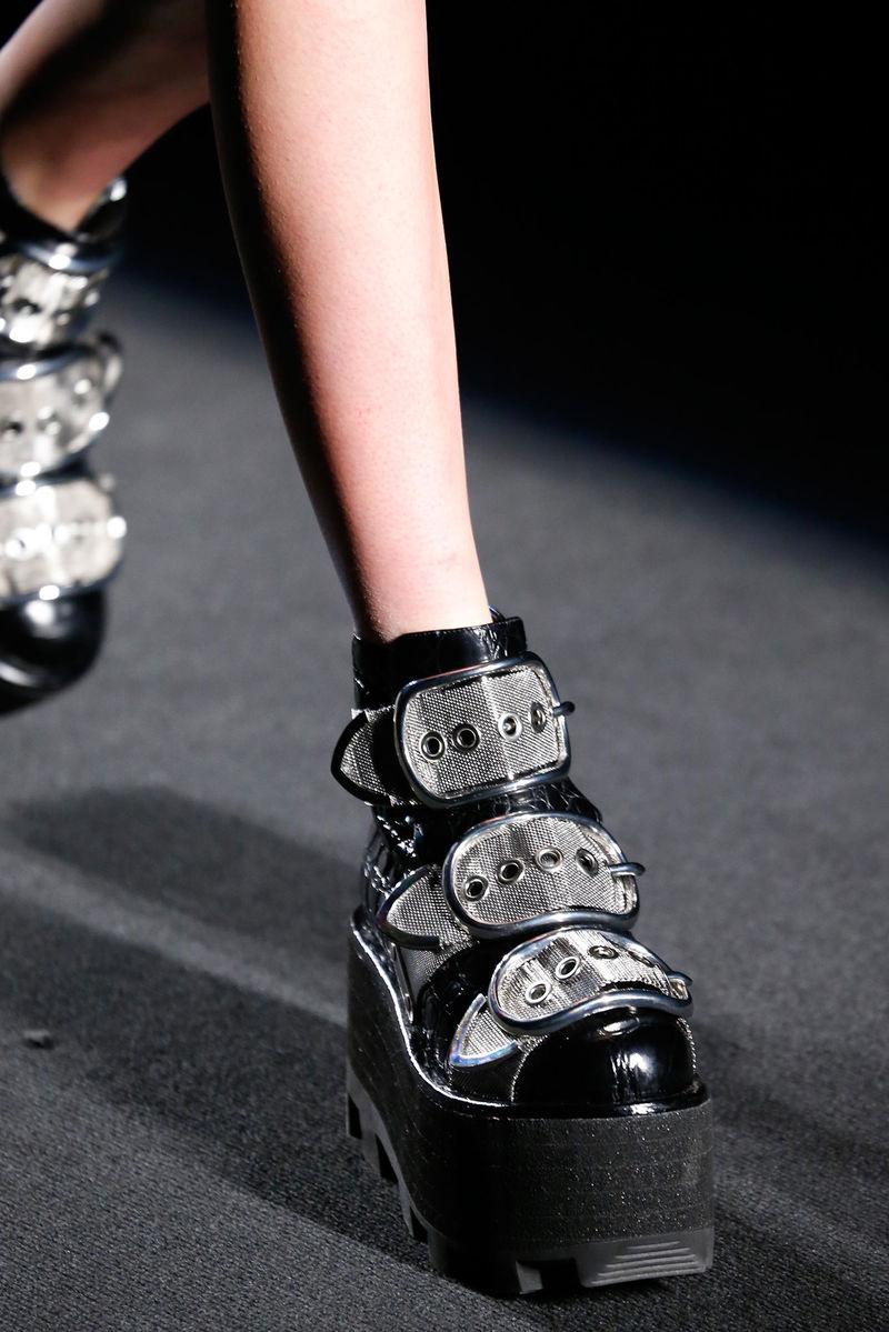 Luxurious Grunge Footwear