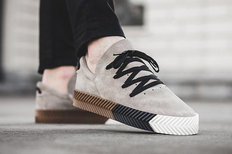 Ultra-Modern Suede Sneakers
