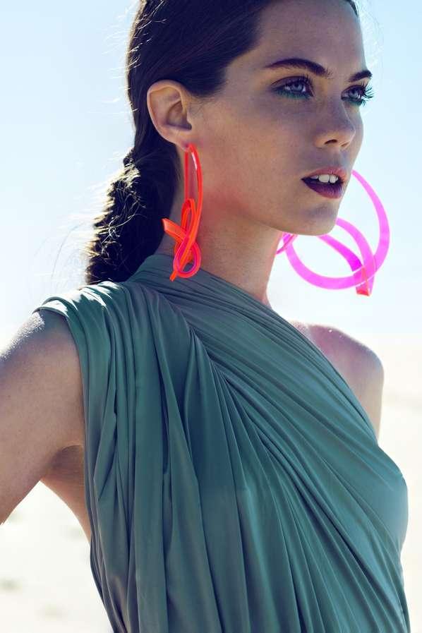 Florescent Beachwear Accessories