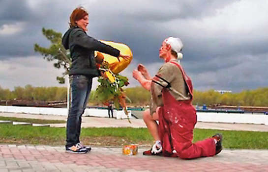 Fake Death Marriage Proposals