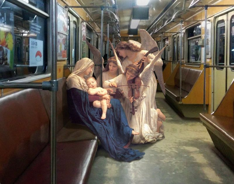 Contemporized Classical Paintings