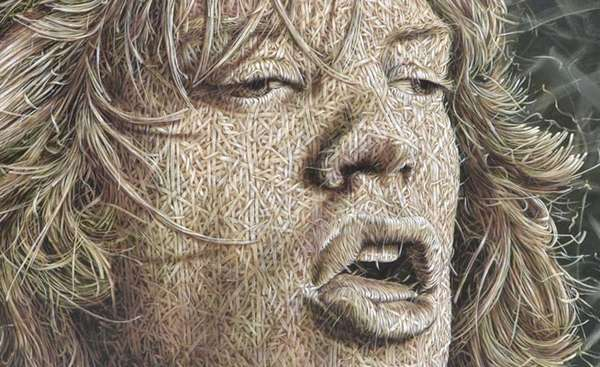 Interwoven Face Illustrations
