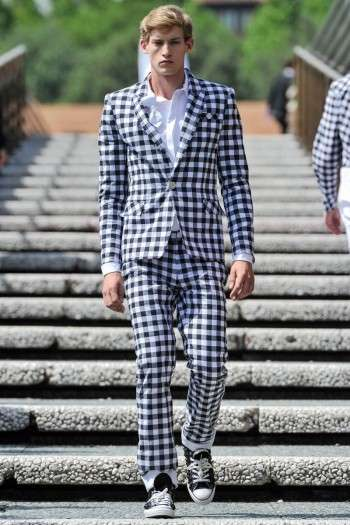 Gingham-Obsessed Runways