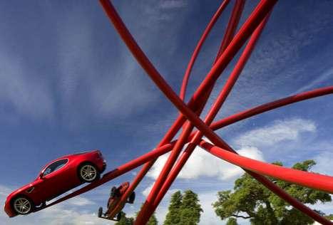 Loopy Car Coasters