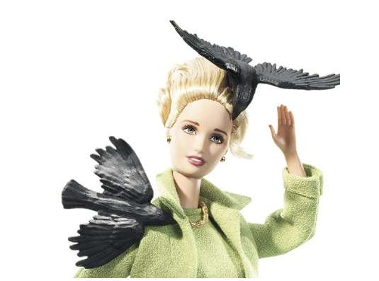 alfred hitchcock the birds barbie
