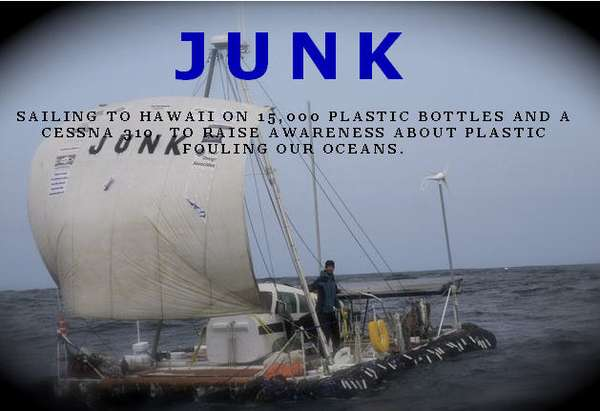 Rafts Made of Junk