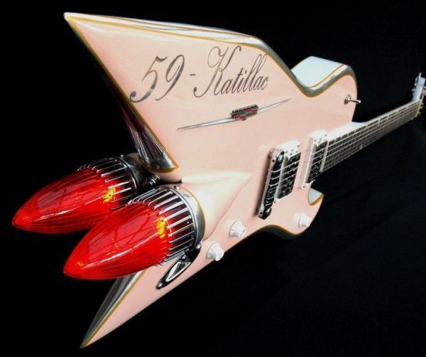Classic Car Guitars