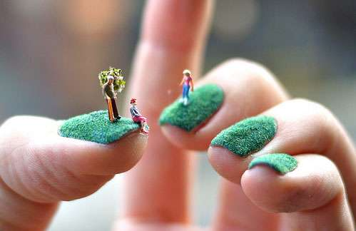 Miniature Garden Fingernails