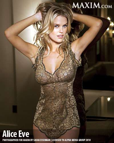 Alice Eve for Maxim