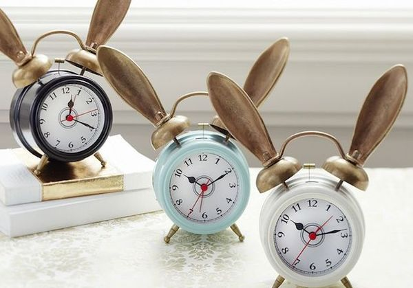 Whimsically Eared Alarm Clocks