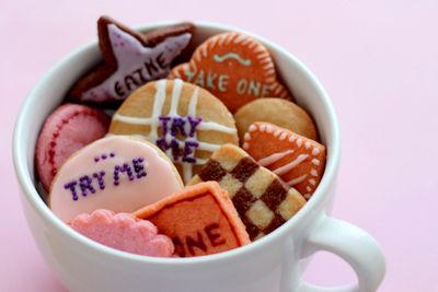 Cinematic Cookie Recipes Alice In Wonderland Cookies