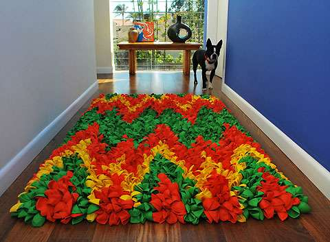 Vibrant Upcycled Carpets
