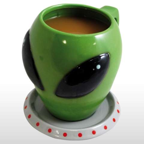 Extraterrestrial Coffee Cups