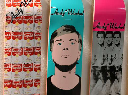 Pop Art Skate Decks