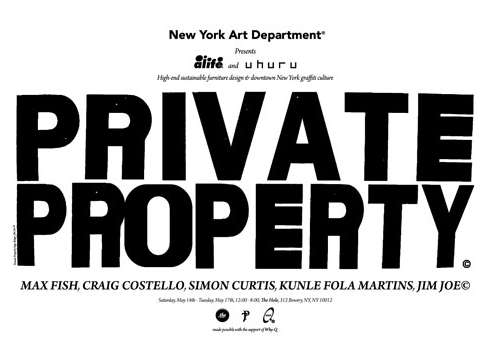 Alife x Uhuru Private Property