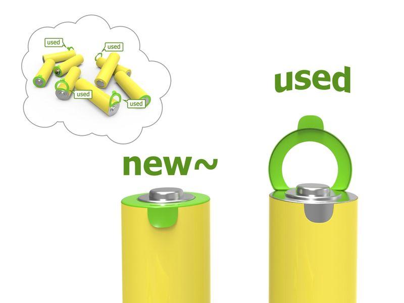 Pull-Tab Battery Indicators