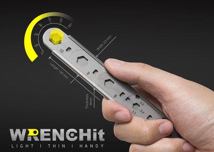 Slim Interchangeable Wrenches