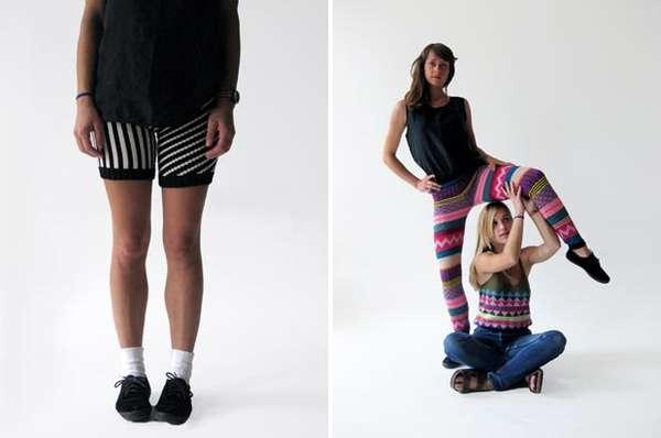 Spunky Knit Fashion