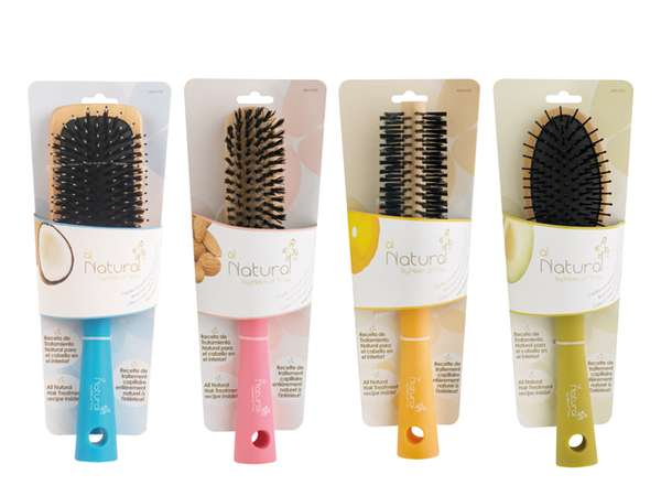 All Natural Brushes Packaging