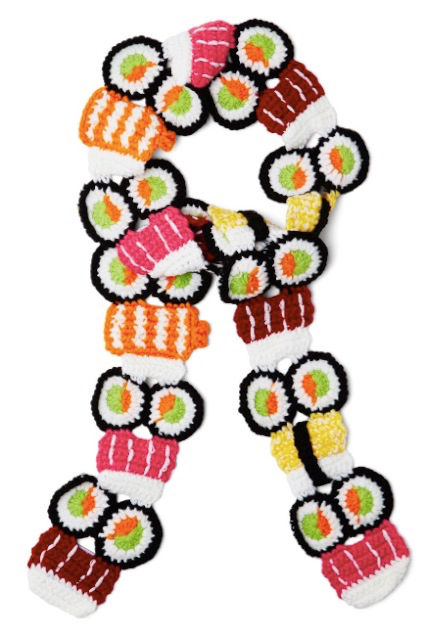 Delectable Sushi Scarves