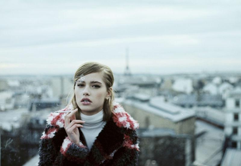 Parisian Polaroid Editorials