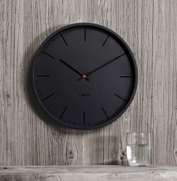 Minimalist All-Black Clocks