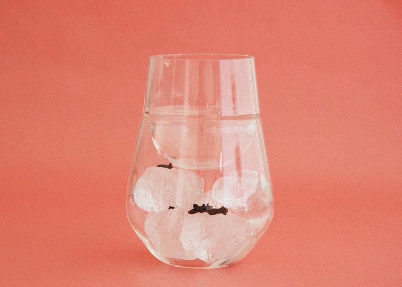 Hydration-Encouraging Glassware