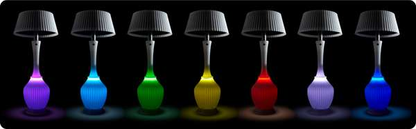 Colorful Heating Lamps