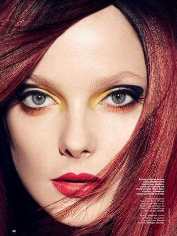 Vibrant Futuristic Beauty Looks