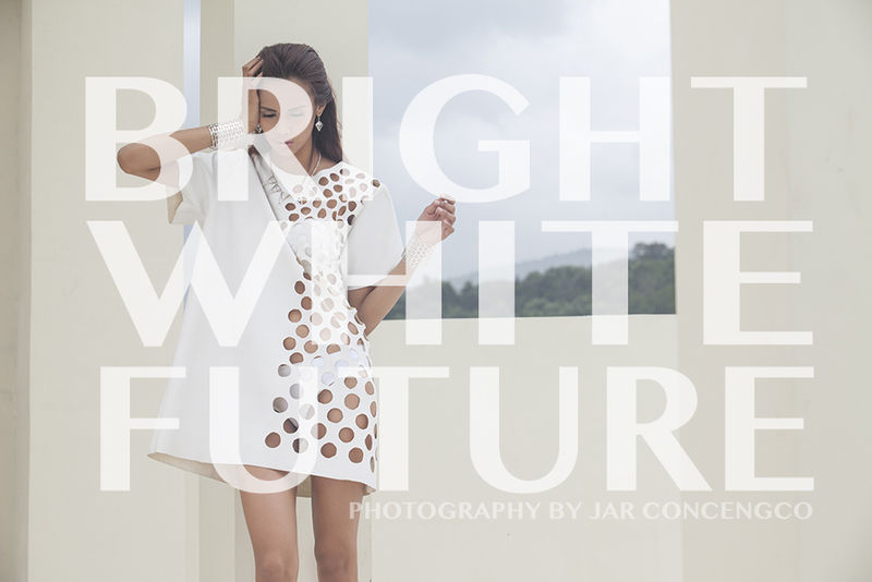 All-White Fashion Photoshoots